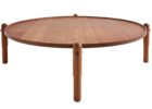 best cheap round cherry wood coffee tables for sale