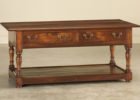 best cherry wood coffee table with drawers