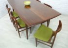 best dining table mid century modern furniture seattle