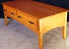 best diy cherry wood coffee table with drawers