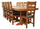 best extra long dining table seats 12