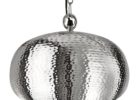 best hammered metal pendant light