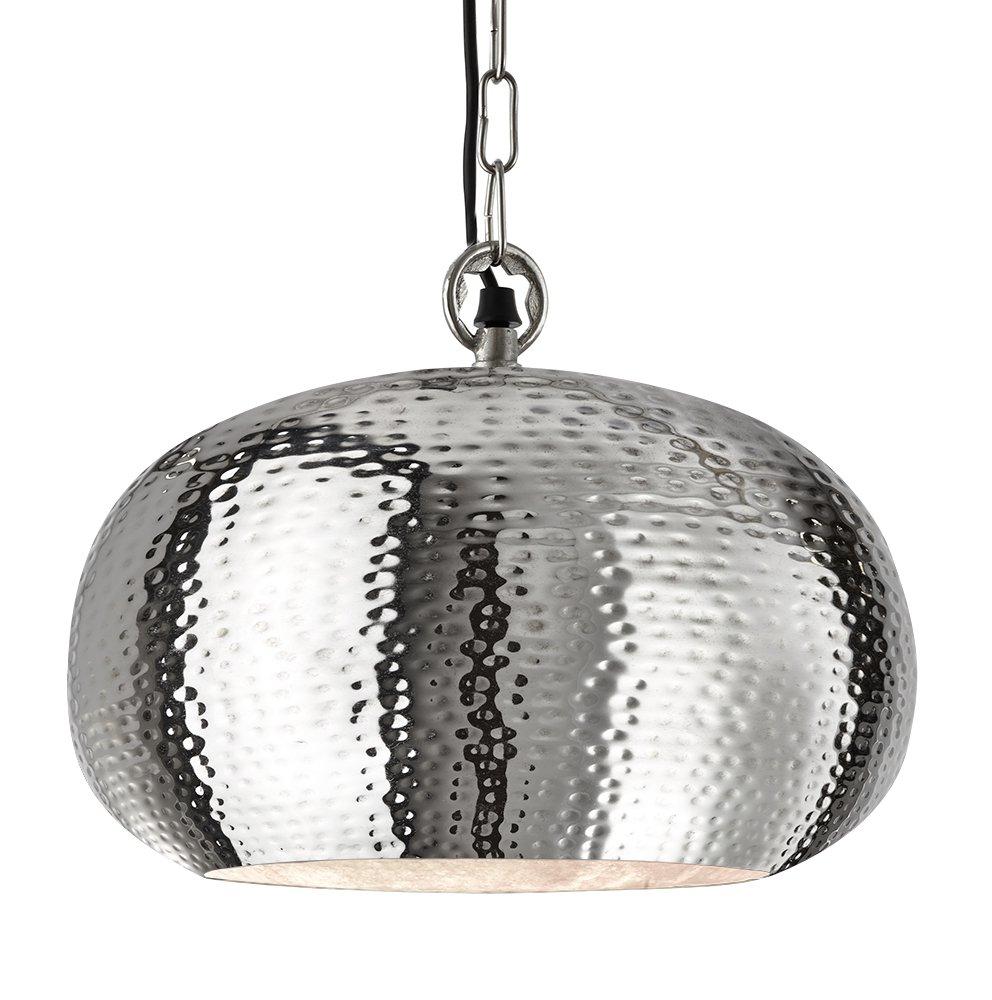 best hammered metal pendant light