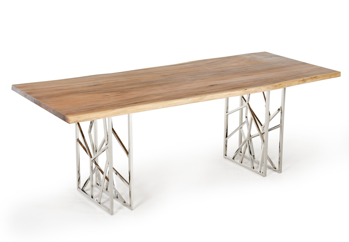 best live edge dining table for sale with metal legs