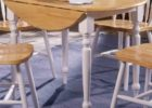 best narrow dining tables with leaves