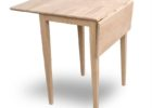 best oak wood drop leaf dining table for small spaces