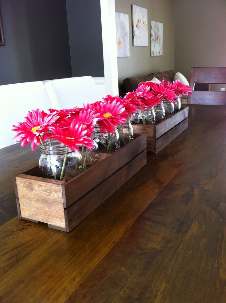 best rustic dining table centerpieces decor