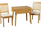 best white washed narrow dining tables with leaves