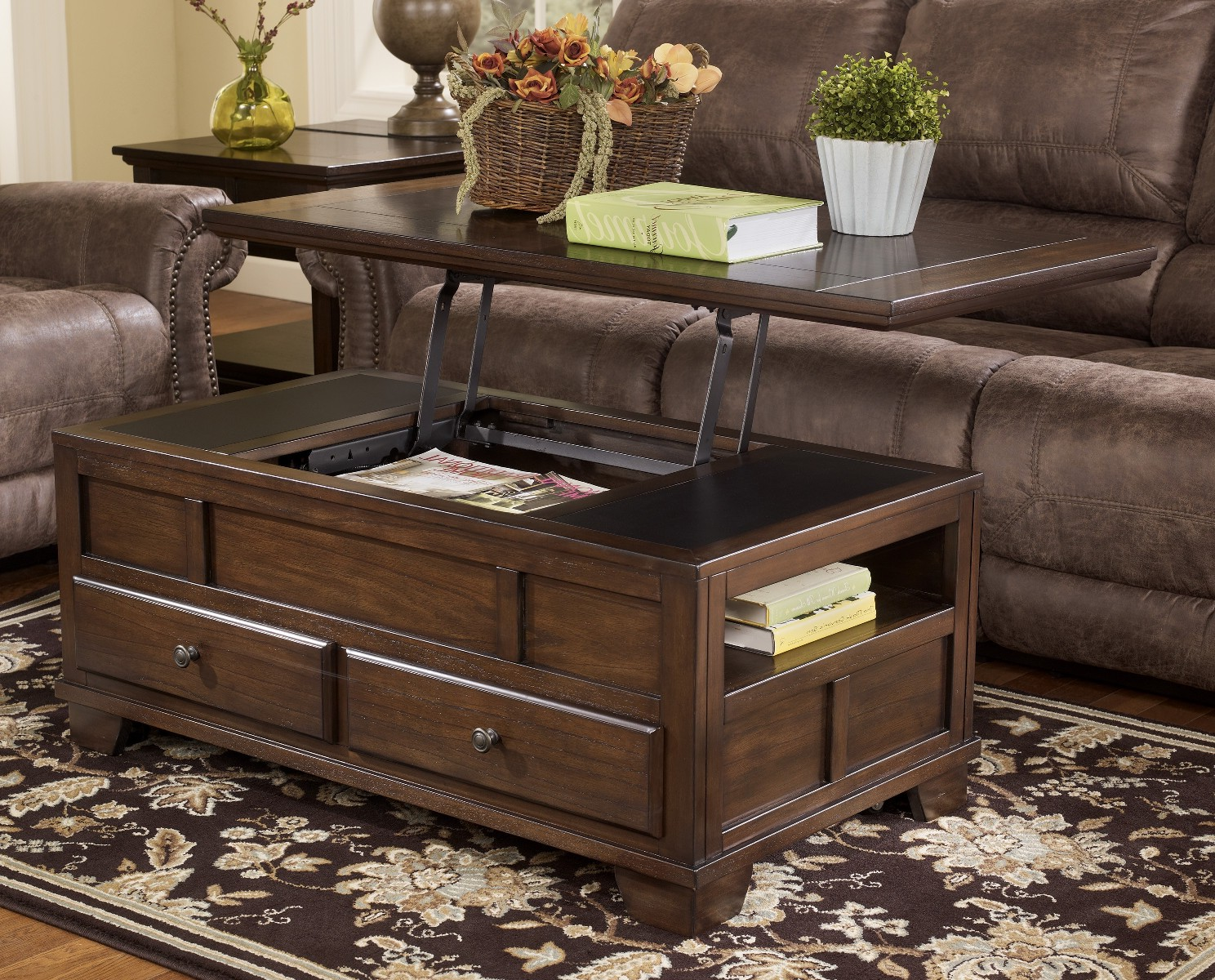 best wood for coffee table top design