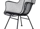 black chair mid century patio furniture for sale