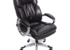 black realspace fosner high back bonded leather chair