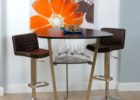 black triangle dining table with bench for sale