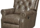 black tufted furniture leather smoking chair
