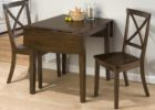 black wood narrow dining tables with leaves