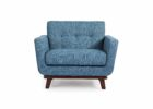 blue mid century modern furniture seattle