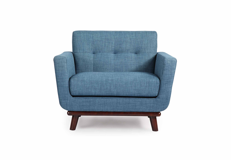 blue mid century modern furniture seattle