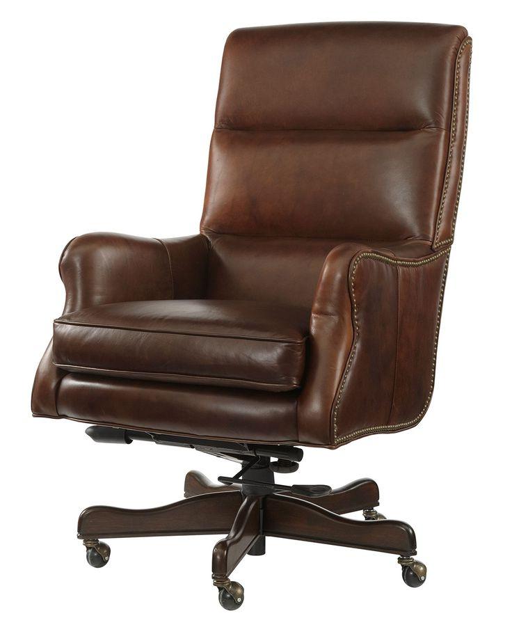 brown swivel macys leather chair