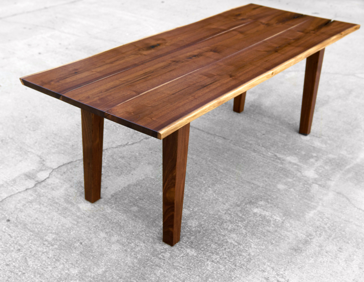 canada live edge dining table for sale