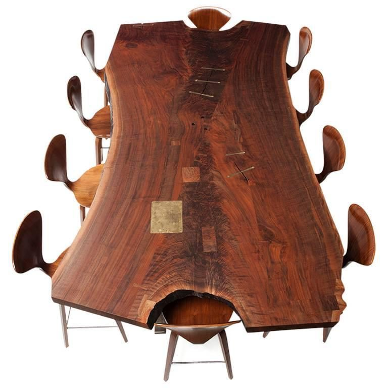 cheap live edge dining table for sale toronto