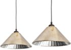 cheap mercury glass pendant light fixture set