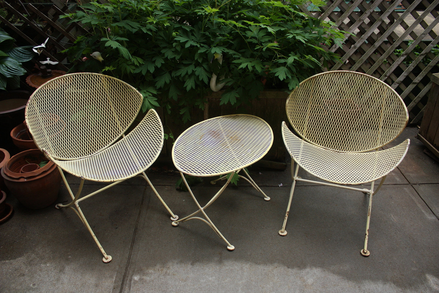 cheap mid century patio furniture for sale