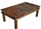 cheap reclaimed wrought iron coffee table with wood top