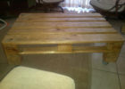 cheap wood pallet coffee table for sale
