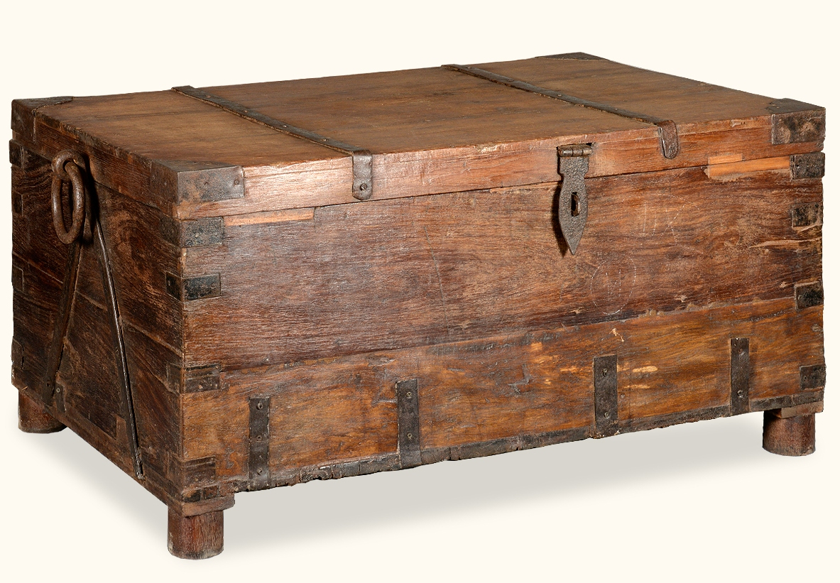 chest dark wood chest coffee table
