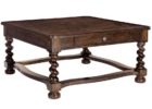 contemporary dark wood chest coffee table
