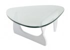 contemporary white distressed wood coffee table for small living room