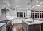 country kitchen remodels with white cabinets and granite countertops
