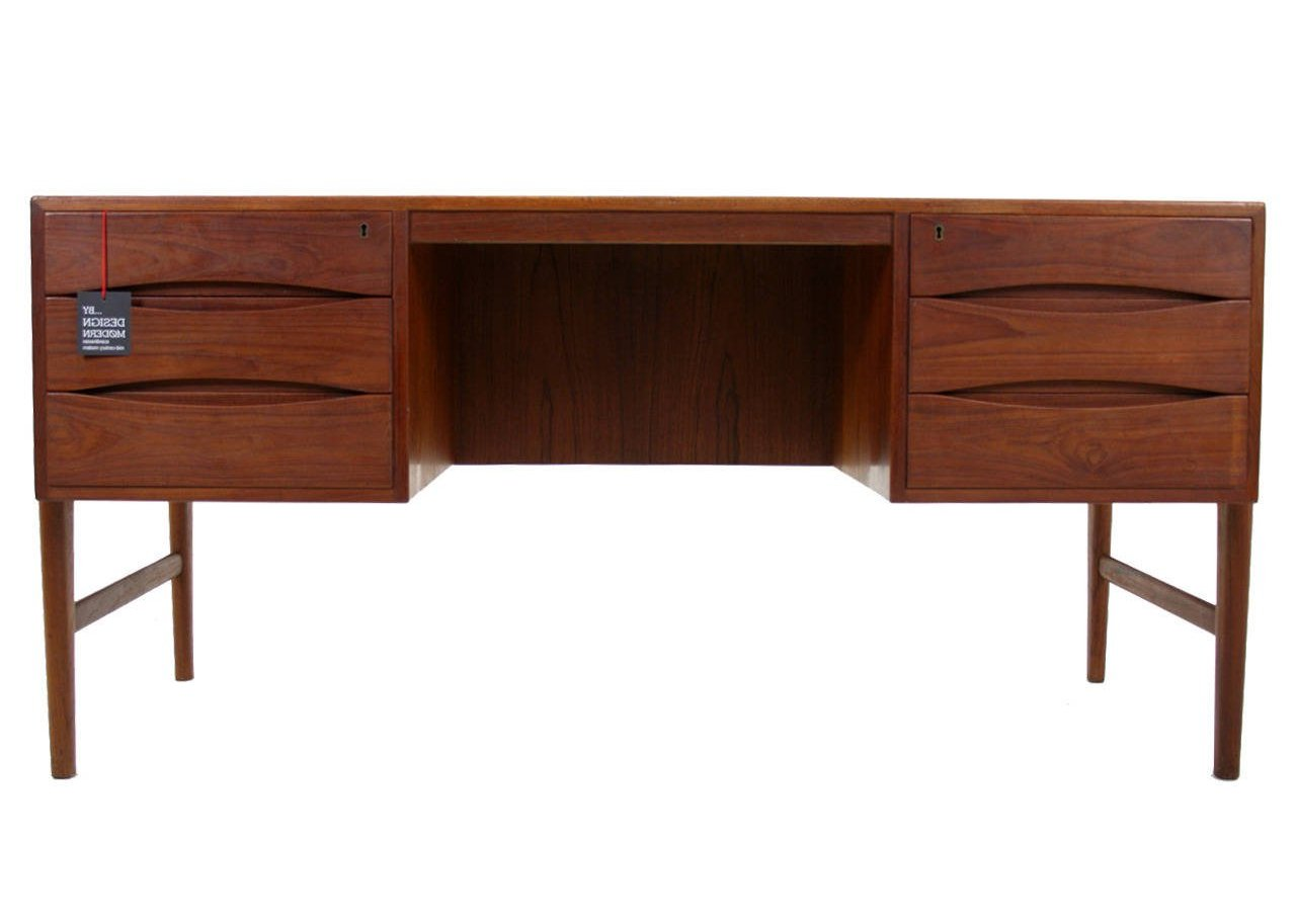 desk mid century modern furniture seattle