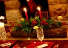 dining room rustic dining table centerpieces decorating
