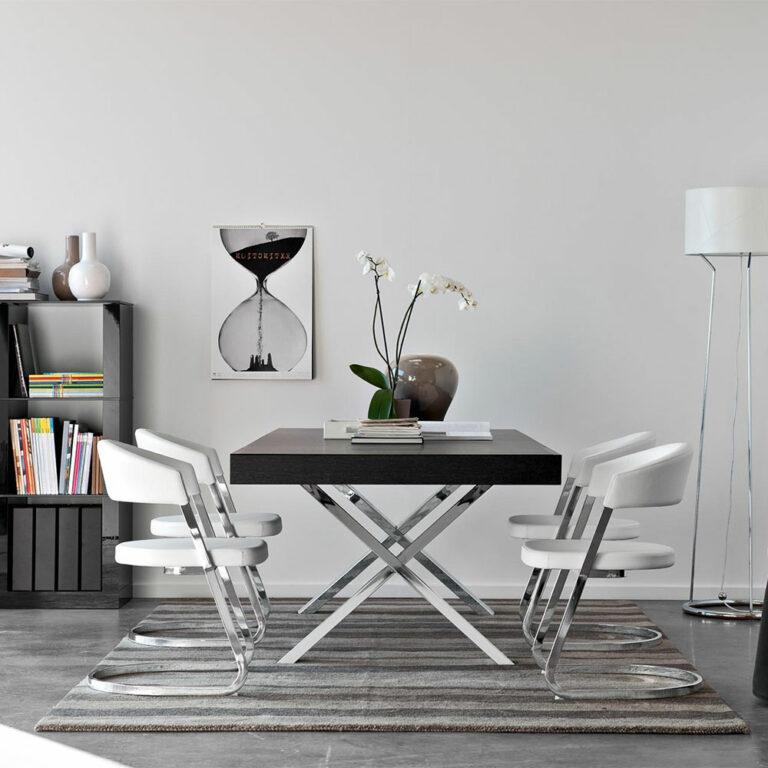 dining table mid century modern furniture seattle