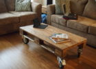 diy wood pallet coffee table for sale with wheels