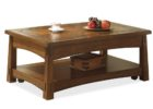 espresso solid wood lift top coffee table