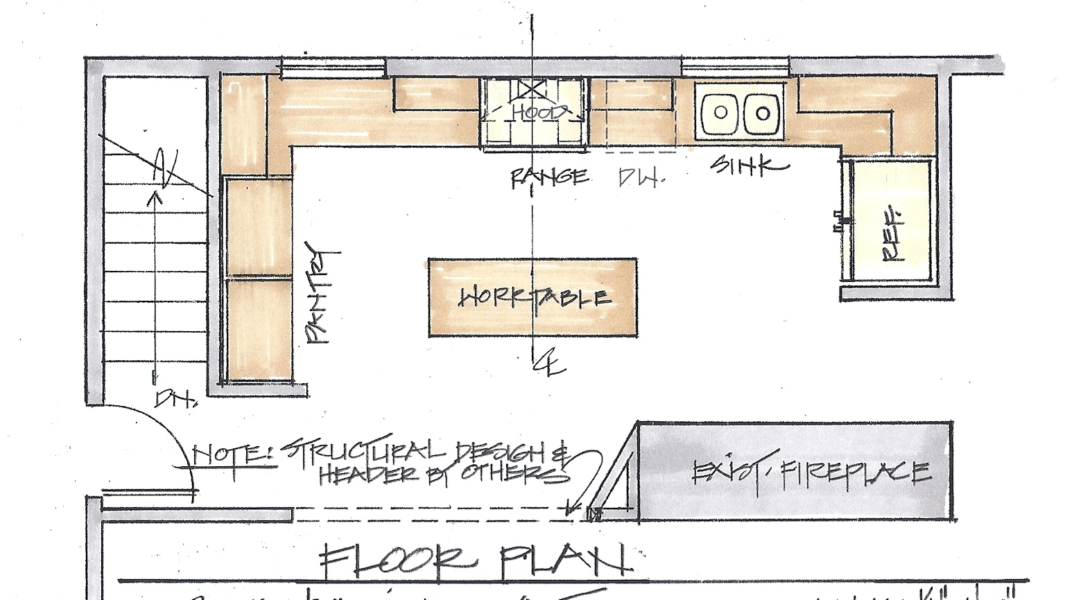 free awesome ideas for kitchen remodeling floor plans