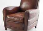 furniture brown leather smoking chair