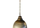 gold mercury glass pendant light fixture decor