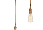 gold pendant light wiring kit uk
