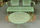 green chair mid century patio furniture for sale