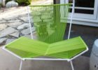 green mid century patio furniture for sale