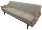 grey sofa mid century modern furniture seattle