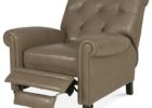 grey tufted macys leather chair recliner