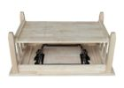 hardware solid wood lift top coffee table