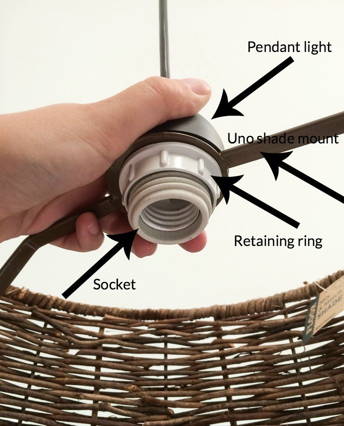how to install pendant lights that screw into socket