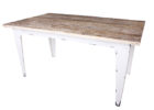 how to white wash dining room table set