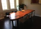 inexpensive live edge dining table for sale
