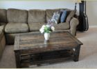 inexpensive modern wood pallet coffee table for sale