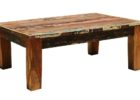 jack pallet reclaimed distressed dark wood coffee table